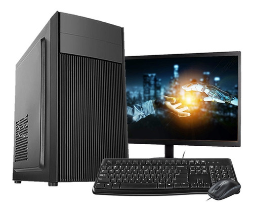 Computador F-new Intel Core I5 8gb Ssd 120gb Monitor Hdmi