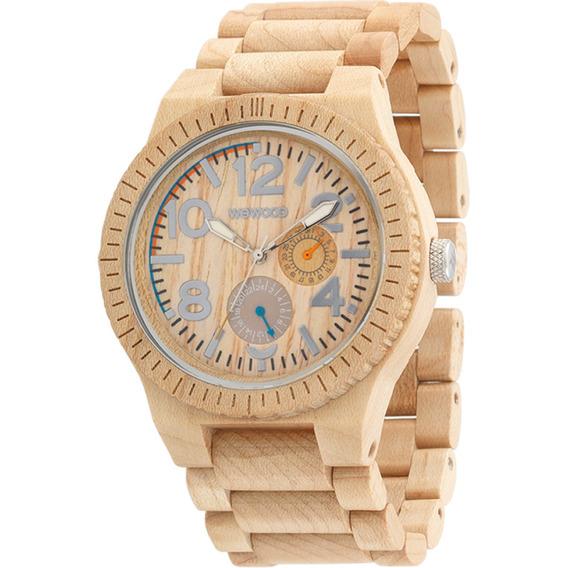 Relógio De Madeira Wewood - Kardo Beige - Wwkr01