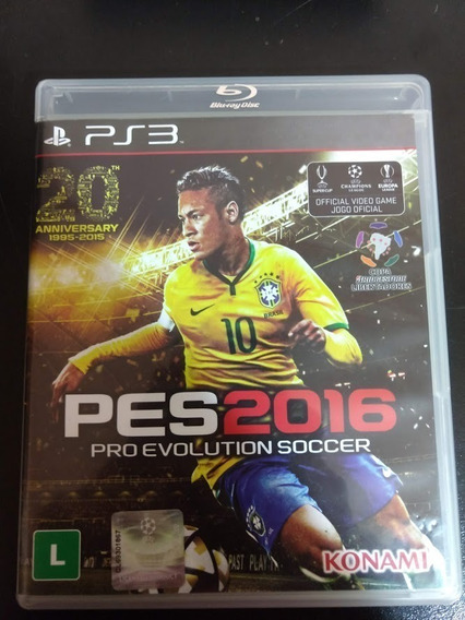 Pes 2016 Pes 16 Ps3 Pro Evolution Soccer Mídia Física Origin