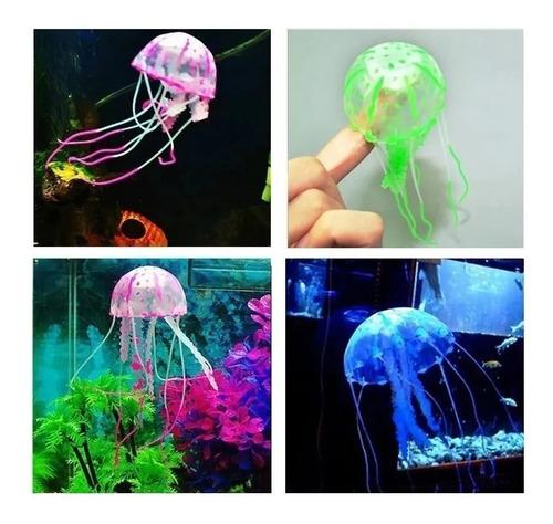 Medusa Decorativa Para Acuarios