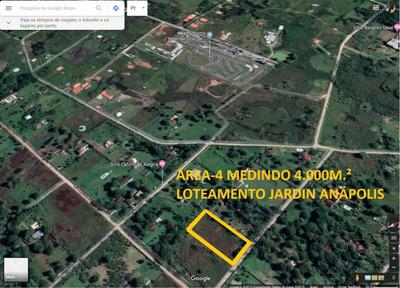 Área - Terreno - Sítio A Venda Em Guapimirim Com 4000m2.
