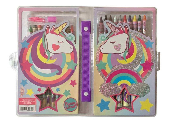 Unicornio Set De Arte 42 Piezas Ck008 C/licencia Original