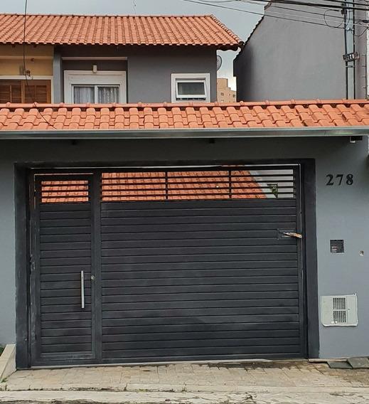 Sobrado Amplo - 4 Dormitórios Com 2 Suítes - 320 M².