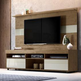 Rack Com Painel Para Tv Até 60 Polegadas Samba Siena Ib