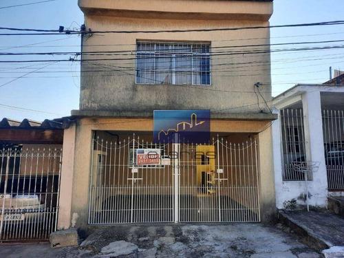 Imagem 1 de 1 de Sobrado Com 2 Dormitórios À Venda Por R$ 350.000,00 - Vila Nhocune - São Paulo/sp - So1233