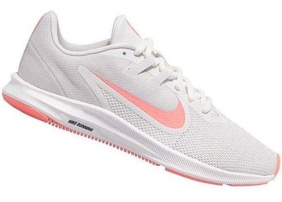 Tenis Downshifter 9 Mujer/blanco Aq7486-010 Nike