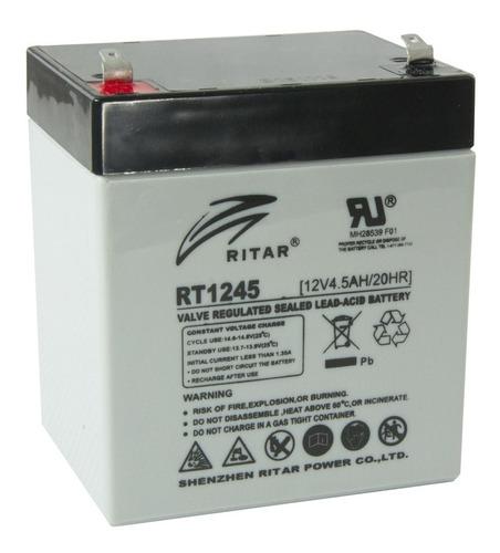 Bateria 12v 4.5ah(12v 4ah) Secas Ritar Rt-1245