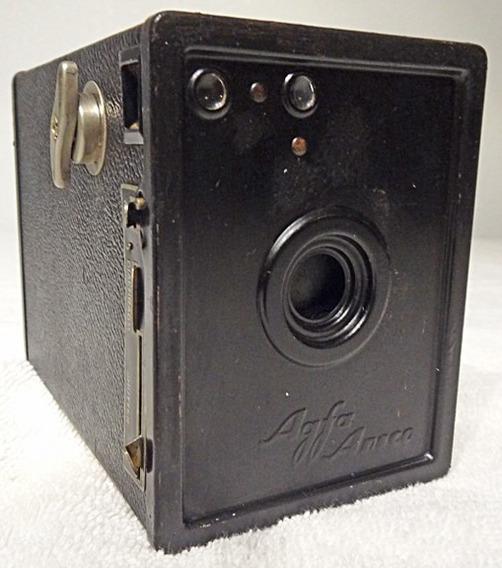 Maquina Fotografica Antiga Agfa Ansco N 2 Ano 1928