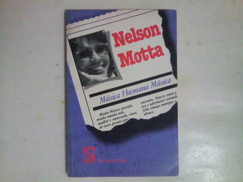 Música  Humana Música - Nelson Motta