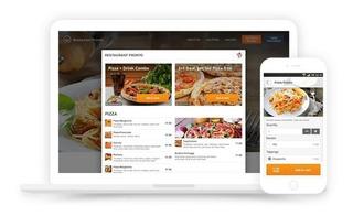 Páginas Web Para Restaurante + Sistema De Pedido + Hosting