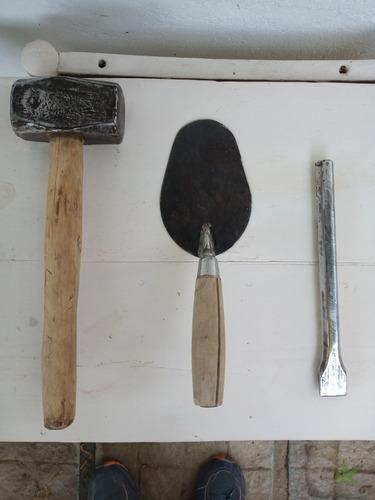 Kit De Herramientas: Cuchara, Maza Y Cortafrío