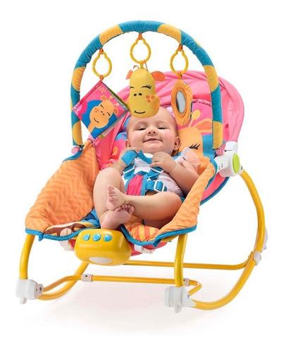 Cadeira De Descanso Musical E Balanço De 0 A 20 Kg Girafa