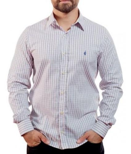 Camisa Quadriculada - Scacchi Rosa 3-g