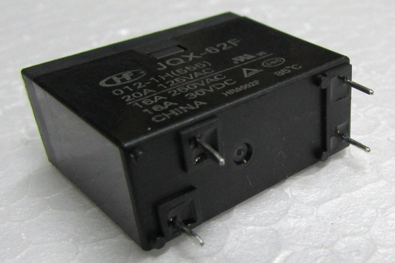 Relé Hongfa Hf Modelo Jqx-62f 012-1h 20a Para Micro Ondas