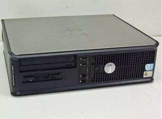 Micro Cpu Dell Gx620 Pentium 4 Ht Memoria 2gb Hd 80gb Monitor Dell 15 Polegadas Computador Completo