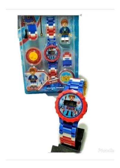 Relógio Digital Infantil + Boneco Pequeno Príncipe Diversão