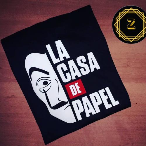 Franela De La Casa De Papel
