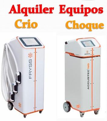 Alquiler Body Up - Criolipolisis -ondas De Choque - Hifu