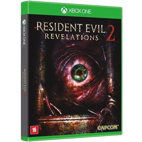 Resident Evil Revelations 2 Xbox One Mídia Física Original
