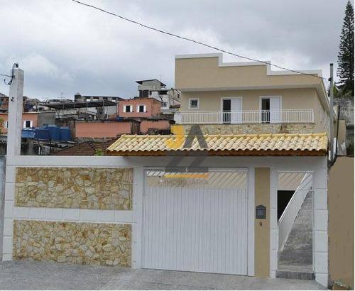 Confortável Sobrado Novo Em Condomínio À Venda Pronto Para Morar Em Itaquera - Ca13320