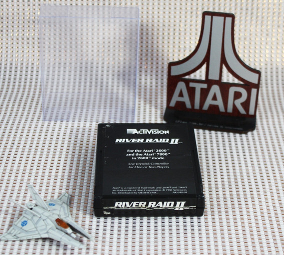 River Raid Ii 2 Activision [ Atari 2600 ] Black Label Ntsc