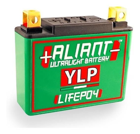 Bateria Lithium Litio Aliant Ylp07 Moto Competição Pista Rua