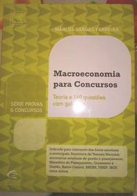 Macroeconomia - Série Provas E Concursos