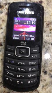 Celular Samsung Gt-e1086 Semi-novo Carrega De 8 Frete Grátis