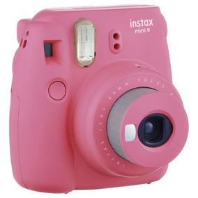 Câmera Instantânea Fuji Instax Mini 9 Rosa Flamingo Polaroid