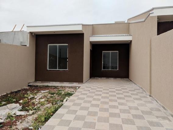 Casa Para Venda Em Ponta Grossa, Uvaranas, 2 Dormitórios - Lflh - 02_1-1300620