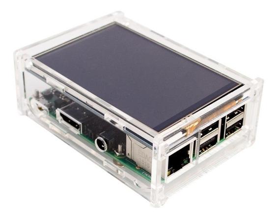 Display Lcd 3.5 Touch Screen Tela Raspberry Pi 3 Pi3 Grátis