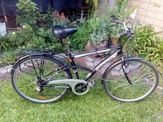 Bicicleta Híbrida Rodado 28 Con Cambios. Skinred: Nordica.
