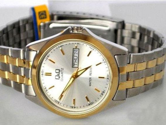 Q & Q Original A156-400 Elegante Reloj Para Hombre