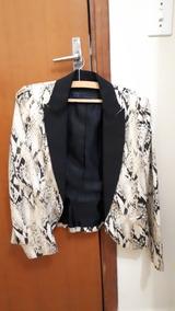 Blazer Casaco Zara