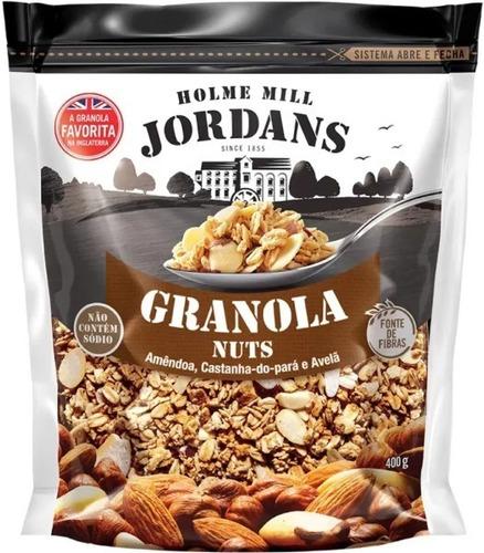 Imagem 1 de 1 de Granola Cereal Jordans Nuts Amêndoa Castanha-pará Avelã 400g