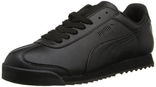 Puma Roma Basic De La Mujer W Walking Zapato, Negro / Negro