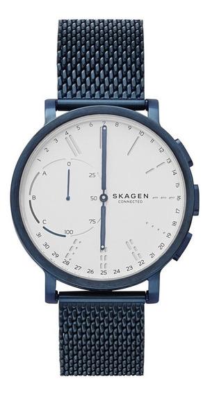 Smartwatch Híbrido Caballero Hagen Connected Skt1107 Azul