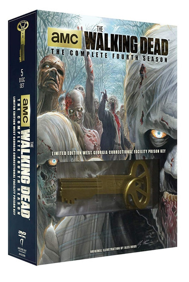 The Walking Dead Temporada 4 Dvd + Prision Key (limited)