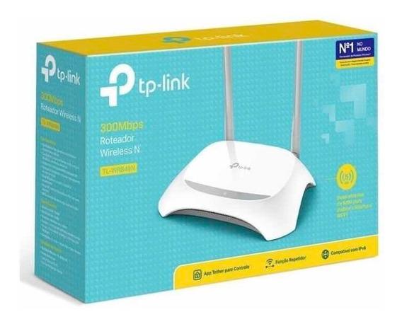 Roteador Wireless Tp-link Tl-wr849n 2 Antenas Fixa Lacrado