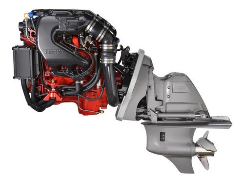 Motor Volvo Penta 4.3 V6 280hp + Rabeta Sx P/ Barco Lancha