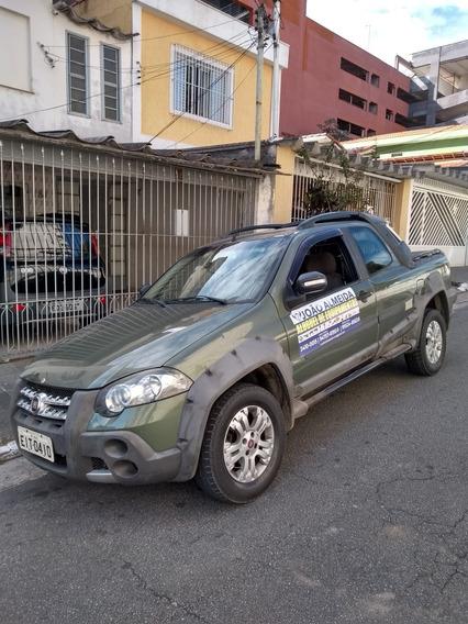 Fiat Strada 2010 1.8 Adventure Cab. Dupla Flex 2p