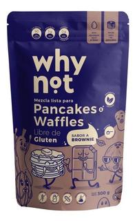 Mezcla De Pancakes Y Waffles Brownie X 300 Grs Why Not