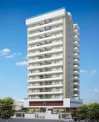 Apartamento A Venda No Bairro Vila Tupi Em Praia Grande - - 127-1