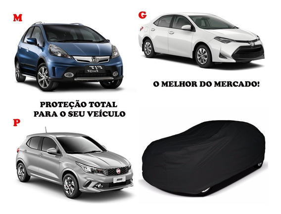 Capa Cobrir Carro 100% Forrada Corino Couro Ecologico Imperm