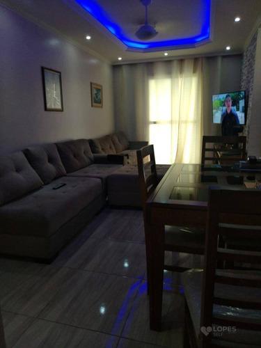 Apartamento Com 2 Quartos, 52 M² Por R$ 125.000 - Santa Luzia - São Gonçalo/rj - Ap44465