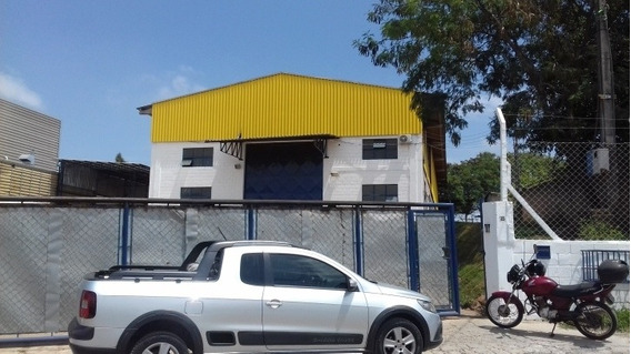 Galpão Na Zona Industrial Próximo Da Rodovia - 144lc