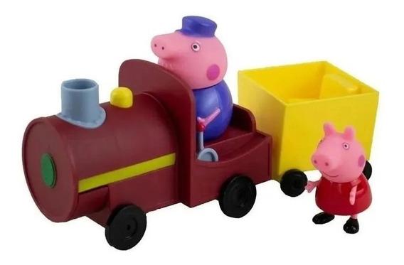 Vovô Maquinista Com Trenzinho E Peppa Pig Sunny 2306