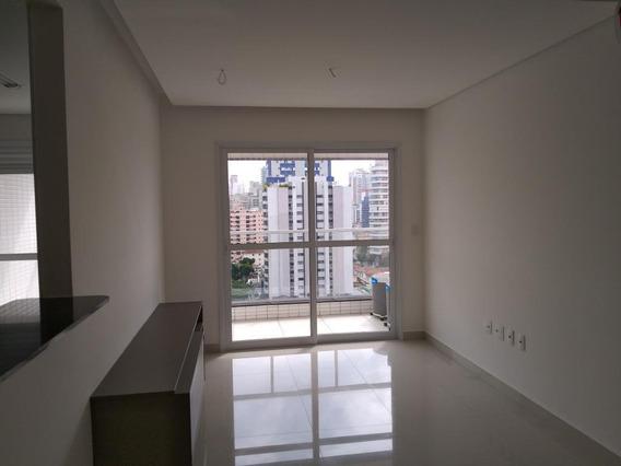 Apartamento Em Embaré, Santos/sp De 52m² 1 Quartos Para Locação R$ 3.200,00/mes - Ap328111