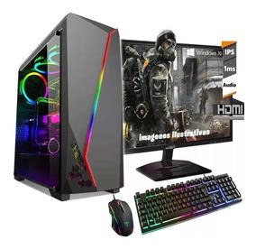 Pc Completa Amd Athlon 3.2ghz 1tb Rx550 2gb Gamer Fortn*