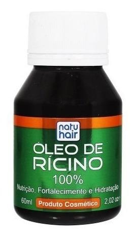 Óleo De Rícino Natu Hair 60ml Skafe